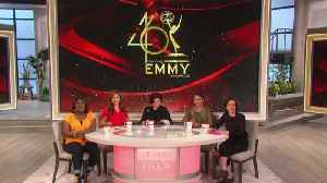 The Talk - Exclusive - The Talk Hosts Announce the Daytime Emmy Nominations Part 2 [Video]