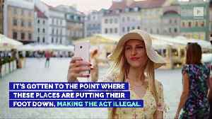 10 Places It's Illegal to Take a Selfie [Video]