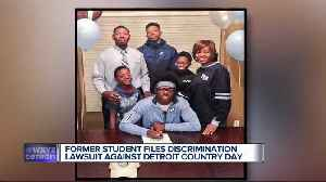 Family of former star athlete claims racial discrimination at Detroit Country Day [Video]