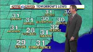 Metro Detroit Weather: First day of spring brings spring showers [Video]