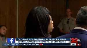 Closing statements begin for trial for woman accused of killing boyfriend [Video]