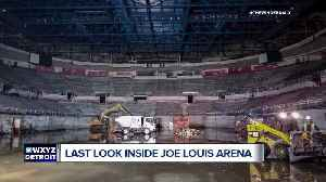 Last look inside Joe Louis Arena: Red Wings old home ready for destruction [Video]