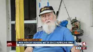 Man without running water since hurricane irma [Video]