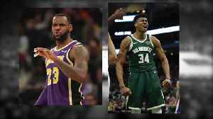 Fans disappointed to see Giannis, LeBron sit out Bucks-Lakers game Tuesday [Video]