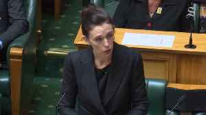 Prime Minister Jacinda Ardern Vows to Never Speak the ChristchurchShooter's Name [Video]