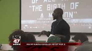 LCC hosts poetry reading for Black History Month [Video]