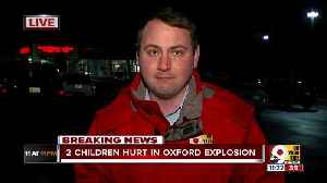 Two children wounded in Oxford explosion [Video]