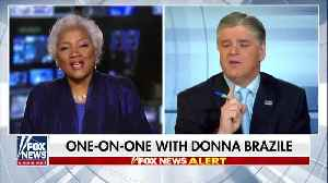 Sean Hannity invites Donna Brazil to fill-in one day [Video]