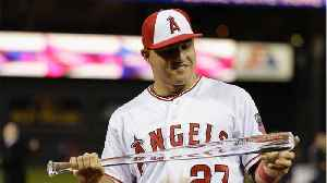 Mike Trout Gets Record Contract [Video]