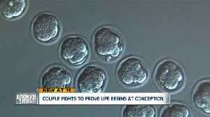 Are frozen embryos considered living persons? Appeals court to hear case Wednesday [Video]