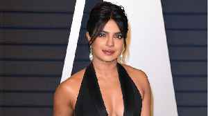 Priyanka Chopra Put A Playful Spin On The Sheer-Fashion Trend In A $1,370 Polka-Dot Shirt And Skirt [Video]
