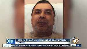 Authorities search for man missing from Santee hospital [Video]