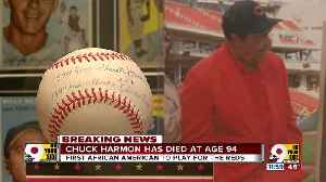 Chuck Harmon, first African-American Reds player, dead at 94 [Video]