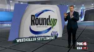 Monsanto's widely used weed killer, Roundup, was likely cause of man's cancer, jury says [Video]