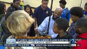 Baltimore students map potential careers in surveying [Video]