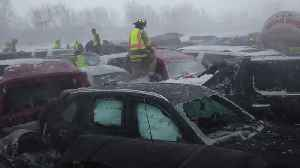 New video from Interstate 41 pileup in late February [Video]