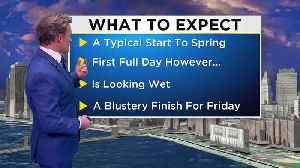 New York Weather: CBS2 3/19 Update at 8PM [Video]