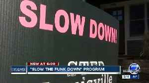Denver drivers urged to 'slow the funk down' [Video]