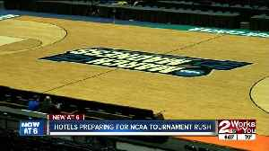 Hotels preparing for NCAA tournament rush [Video]