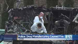 Police: Drug Manufacturing Caused Motor Home Fire [Video]