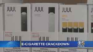 Crackdown On SF-Based Juul E-Cigarettes Could End In Eviction [Video]