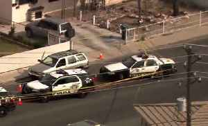 Domestic call leads to police shooting near downtown LV [Video]