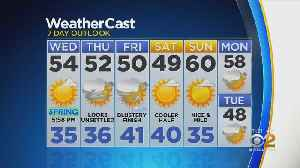 New York Weather: CBS2 3/19 Nightly Forecast at 11PM [Video]
