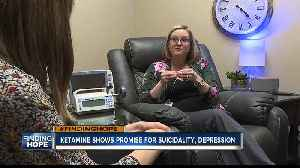 Ketamine shows new promise for Idahoans suffering from drug-resistant depression [Video]