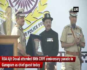 NSA Doval attends 80th CRPF anniversary parade in Gurugram [Video]