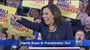 Presidential Candidate Kamala Harris Makes Large Gain In CNN Poll [Video]