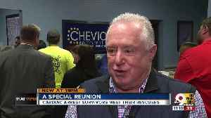 Cardiac arrest survivors thank Cheviot first responders [Video]