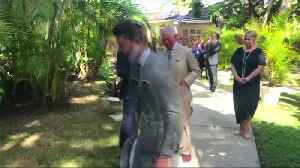 Britain's Prince Charles meets Lionel Richie in Barbados [Video]