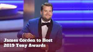 James Corden Will Host The Tony Awards [Video]