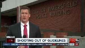 Bakersfield Police say officer involved shooting was not within department standards [Video]