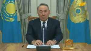 Kazakhstan's president abruptly resigns [Video]