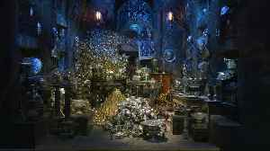 Gringotts Bank comes to life in Harry Potter studio tour [Video]