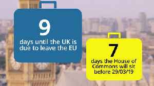 Countdown to Brexit: Nine days until Britain leaves the EU [Video]