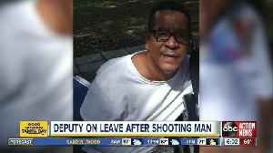Sheriff: Deputy forced to shoot suicidal man in Tampa [Video]