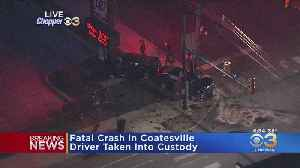 1 Killed In Coatesville Crash On Lincoln Highway [Video]