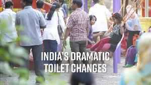 India's improved toilet access stats are awesome [Video]