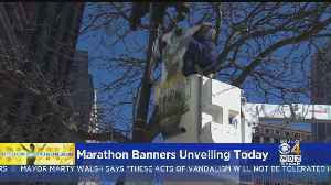 2019 Boston Marathon Banners To Be Unveiled [Video]