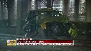 News video: Warren home invasion suspect leads police on chase, crashes in Detroit