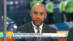 News video: Alex Beresford Talks About Death Of His Cousin On 'Good Morning Britain'