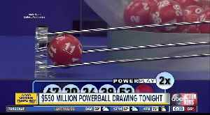News video: There's better odds of winning the Powerball than picking the perfect bracket