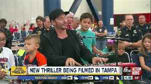 Harry Connick Jr is filming a new movie in the Tampa Bay Area [Video]