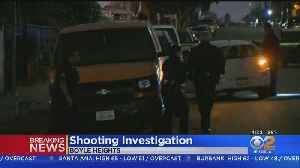 Man In Critical Condition After Shooting In Boyle Heights [Video]