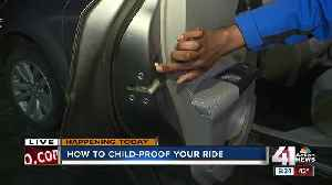Safety tips for childproofing your car [Video]