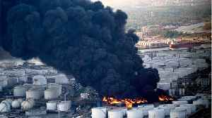 Texas Chemical Site On Fire Since Sunday [Video]