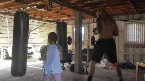 6-year-old girl trains with dad to become pro boxer [Video]