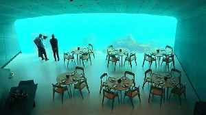 Making waves: Europe's first underwater restaurant opens in Norway [Video]